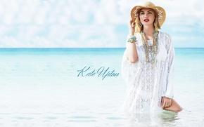 Picture sea, model, Kate Upton