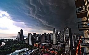 Picture cloud, Chicago, Lincoln Park