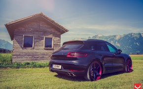 Picture nature, auto, Porsche Macan on CV3