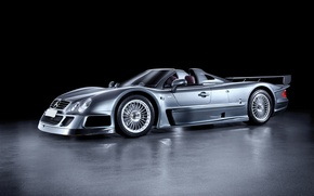 Picture Roadster, Mercedes-Benz, 2006, GTR, supercar, Roadster, Mercedes, AMG, CLK, AMG, Road Version, RHD