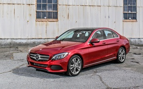 Picture Mercedes-Benz, Mercedes, 2015, W205, C 350