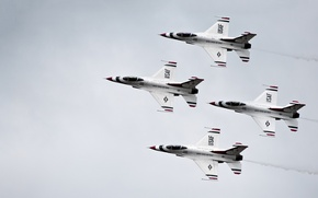 Picture aviation, aircraft, Thunderbirds