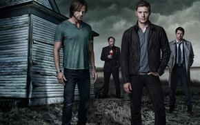 Wallpaper Supernatural, Dean, supernatural, Sam