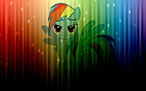 Picture color, wall, color, rainbow, colors, rainbow, wall, color, my little pony, rainbow dash, pony, mlp, …