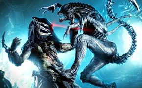 Picture laser, alien, predator, monsters