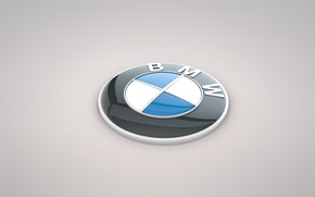 Picture BMW, emblem, propeller, the volume