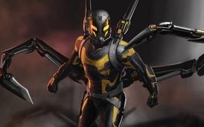 Picture fiction, figure, art, marvel, comic, Ant-man, Ant-Man