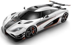 Picture Koenigsegg, carbon, One:1, megakar