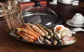 Picture shrimp, seafood, shellfish