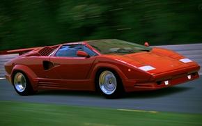Picture retro, Lamborghini, supercar, Countach, LP400
