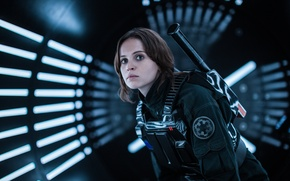 Picture Felicity Jones, Rogue One, Jyn Erso, A Star Wars Story