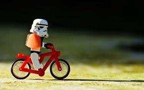 Picture Star Wars, Bike, Star wars, Lego, Clone