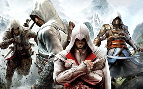 Picture Game, Assassin, Guns, assassin's creed 4 Black Flag