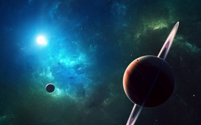 Picture planet, space, star, planets