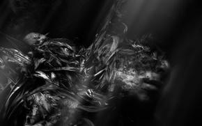 Wallpaper people, fear, night, dark, black, fiction