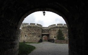 Picture City, Serbia, Belgrade, Dungeon gate