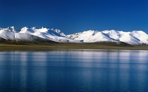 Picture snow, mountains, tundra