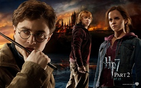 Picture Ron, Harry, Harry Potter Deathly Hallows Part II, Harry Potter the Deathly Hallows Part II, …
