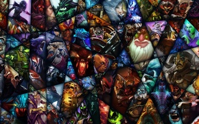 Picture valve, heroes, computer game, dota2