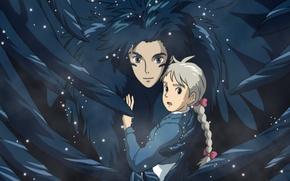 Picture anime, Hayao Miyazaki, Sophie, Howl's Moving Castle, Howl's Moving Castle, Howl