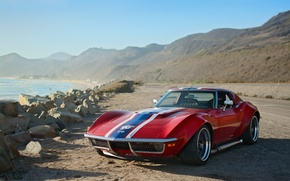 Picture Corvette, Chevrolet, 1969, Coupe, Stingray