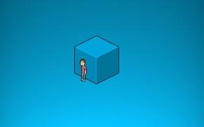 Picture Minimalism, Box, Pixel Art
