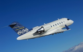 Picture the sky, clouds, flight, Challenger 605, Bombardier Inc., Canadian engineering company
