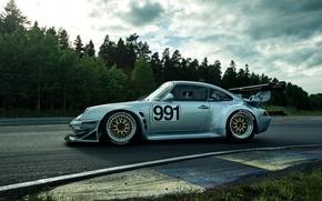Picture Porsche, Machine, Car, Porsche, Car, Racing, Track, 993