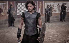 Picture arena, Gladiator, Kit Harington, Pompeii, Pompeii, Kit Harington
