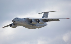 Picture flight, the plane, Russian, military transport, heavy, Il-76MD
