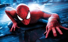 Picture reflection, spider-man, spider man