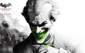 Wallpaper Joker, Batman, Batman, Arkham City, Game, Joker