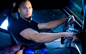 Wallpaper the fast and the furious 4, frame, wines, diesel