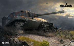 Picture WoT, Camouflage, World of Tanks, World Of Tanks, Wargaming Net, German Heavy Tank, E 100
