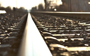 Picture macro, the city, railroad