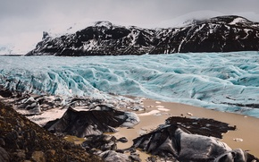 Picture ice, winter, glacial