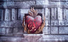 Picture fire, flame, heart, game of thrones, R hllor, the Lord of Light and the Red …