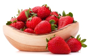 Picture berries, strawberry, bowl