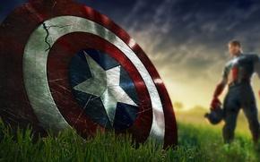 Picture shield, marvel, comic, captain america, the first avenger, the Avengers, Captain America