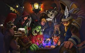 Wallpaper Panda, Warcraft, Sonya, diablo, Orc, Demon Hunter, crusader, Thrall, Tyrael, Heroes of the Storm, Archangel ...