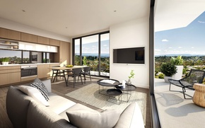 Picture design, style, interior, luxury apartments, Doncaster