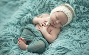 Picture happiness, smile, hat, child, sleep, baby, baby