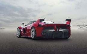Picture background, Ferrari, Ferrari, supercar, rear view, FXX K