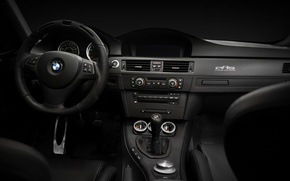 Picture machine, glass, view, speedometer, devices, tachometer, the wheel, cabin, seat, torpedo, sensors, transmission