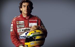 Picture McLaren, helmet, Lotus, 1984, Formula 1, 1990, Legend, Ayrton Senna, 1988, 1991, 1994, extreme sports, …