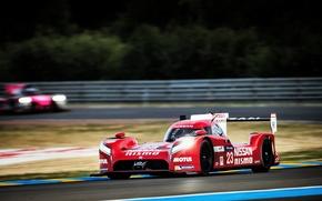 Picture Turn, Blur, WEC, Nissan GT-R LM Nismo, 24H Le Mans