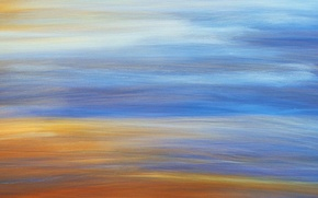 Picture sand, the sky, line, abstraction, canvas, strokes