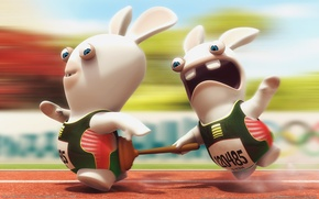 Picture Rabbits, Vantus, rayman raving rabbids tv party, sprint
