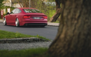 Picture Audi, stance, messer