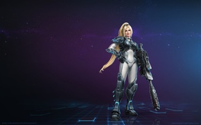 Picture blizzard, Nova, StarCraft 2 Heart of the swarm, heroes of the storm